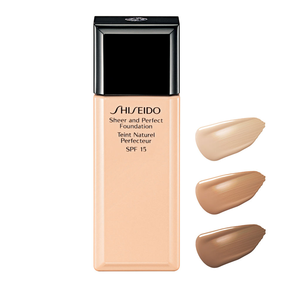 Shiseido Sheer and Perfect Foundation SPF15 – l20 Natural Light Ivory