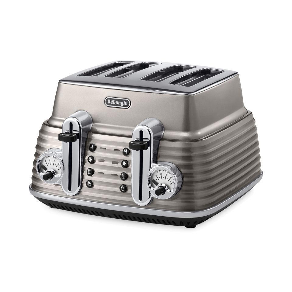 delonghi-ctz4003-scultura-4-slice-toaster-champagne-gloss