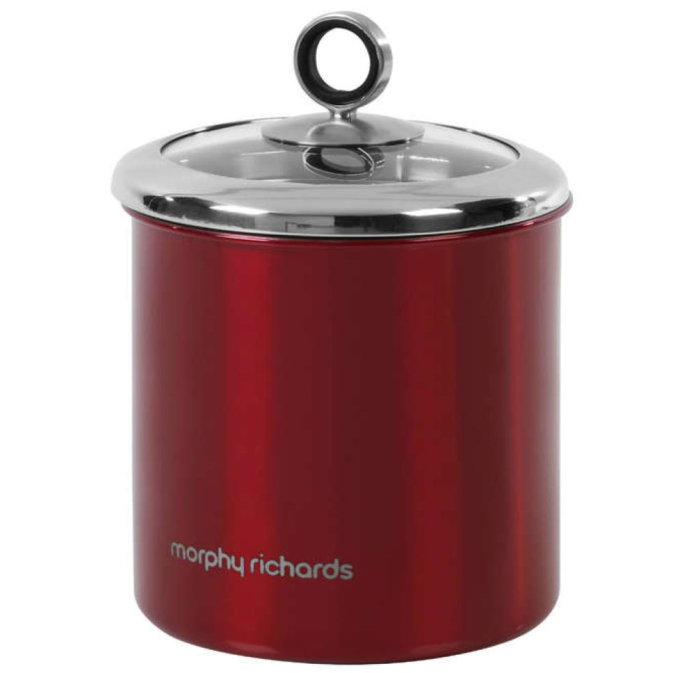morphy-richards-accents-large-storage-canister-red