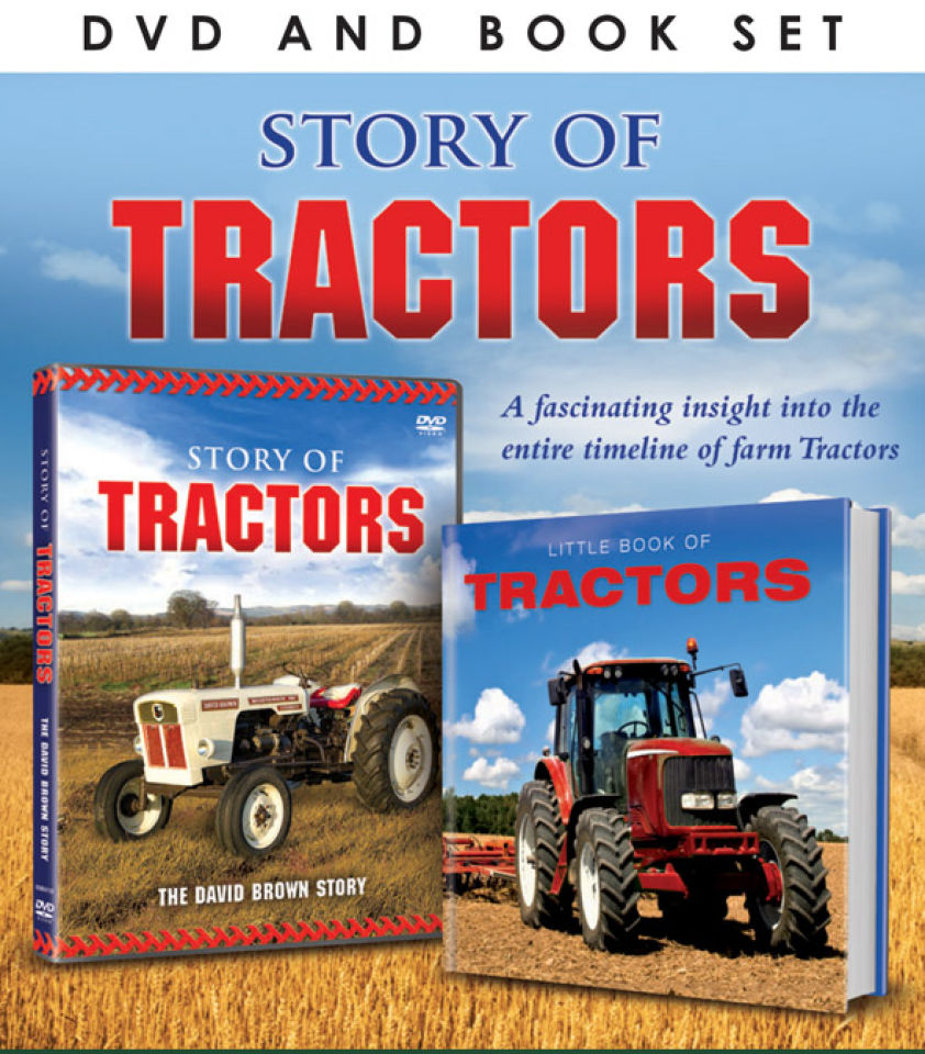story-of-tractors-includes-book