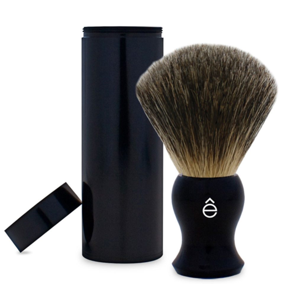 e-shave-travel-fine-badger-hair-shaving-brush-with-canister-black