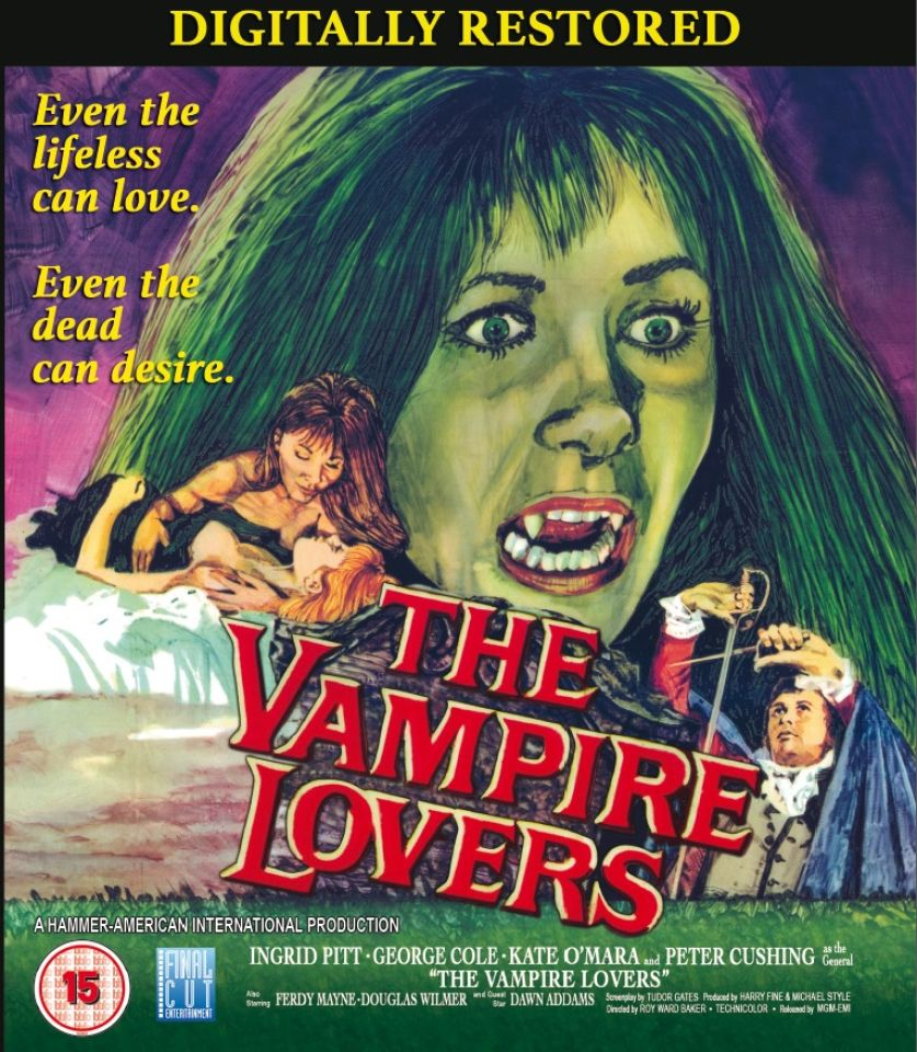 the vampire lovers digitally restored bluray zavvicom