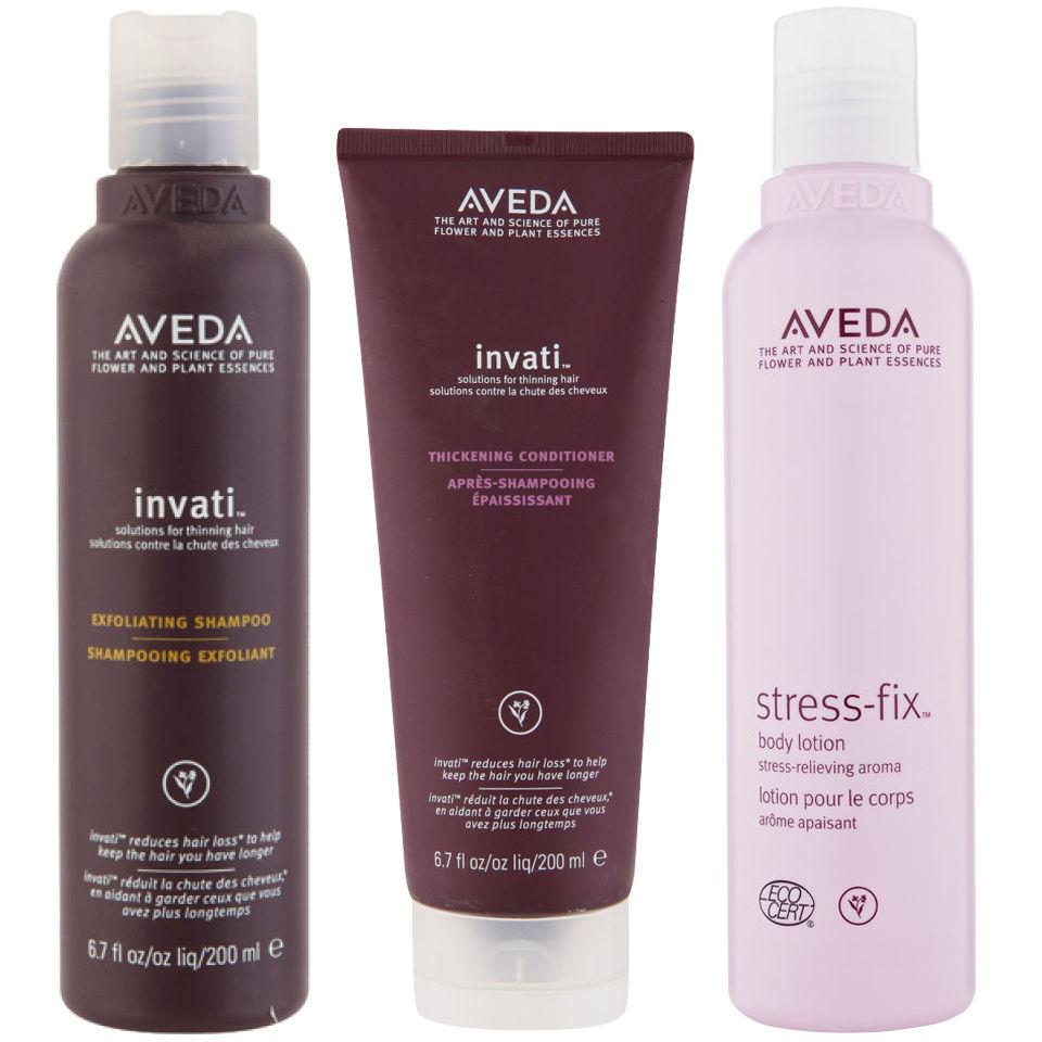 aveda-invati-shampoo-conditioner-200ml-with-stress-fix-body-lotion