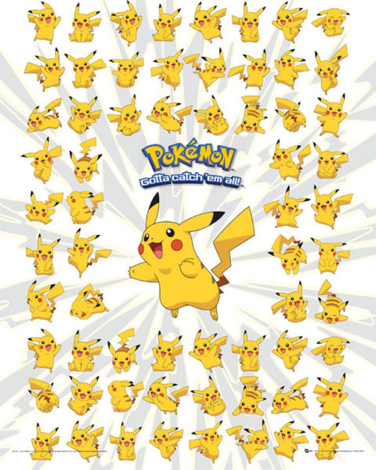 pokemon-pikachu-mini-poster-40-x-50cm