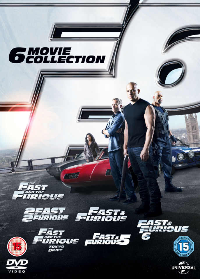 fast-furious-the-6-movie-collection