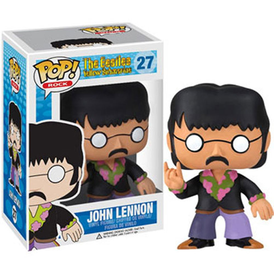 The Beatles John Lennon Pop Vinyl Figure Pop In A Box