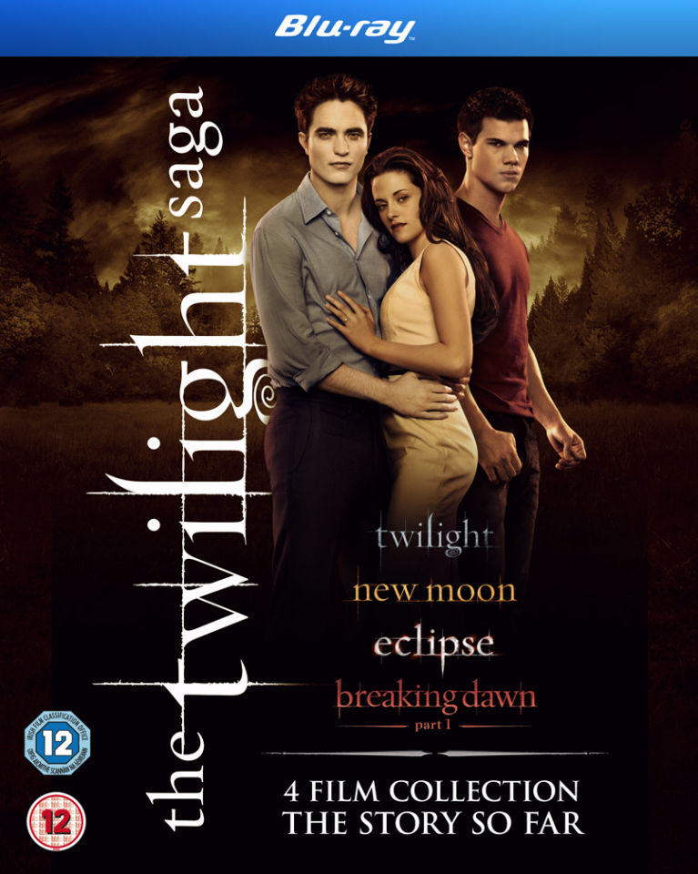 Twilight Saga Quad Pack Blu Ray Zavvi