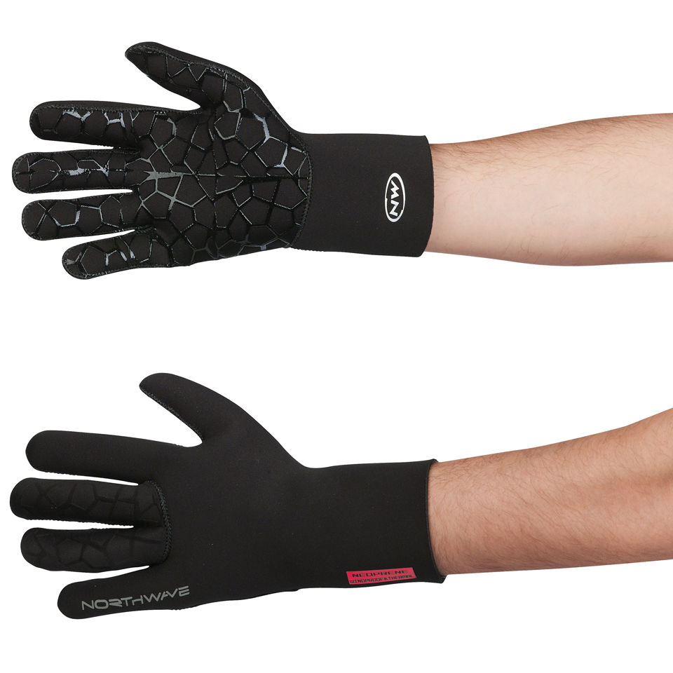 northwave-neoprene-long-finger-gloves-black-xl