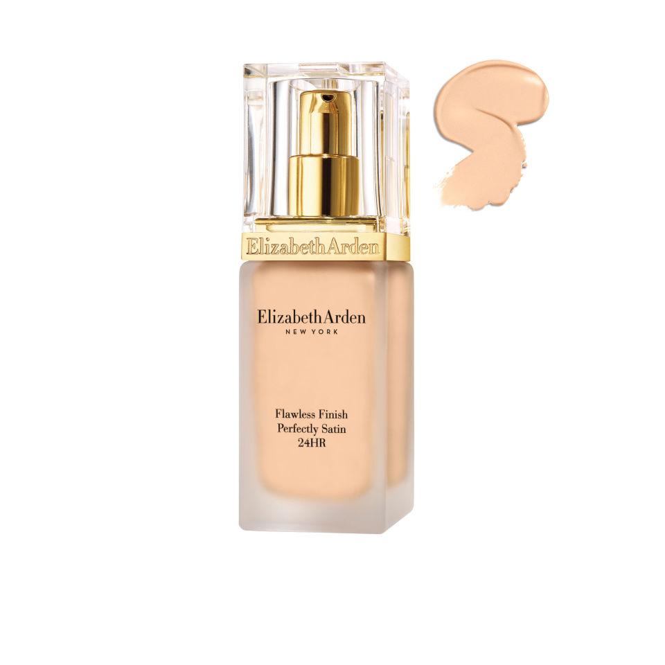 Elizabeth Arden Flawless Finish Perfectly Satin 24HR Makeup SPF15 – Sunbeige 04 (30ml)