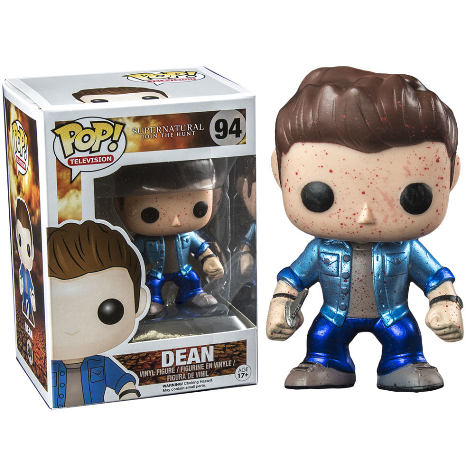 Supernatural Dean Metallic Blood Splatter Exclusive Pop