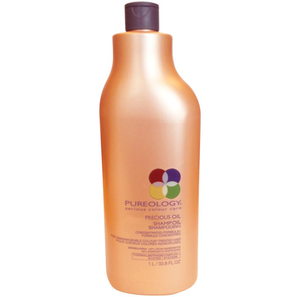 Pureology Precious Oil Shampoo Oil (1000ml)avec pompe
