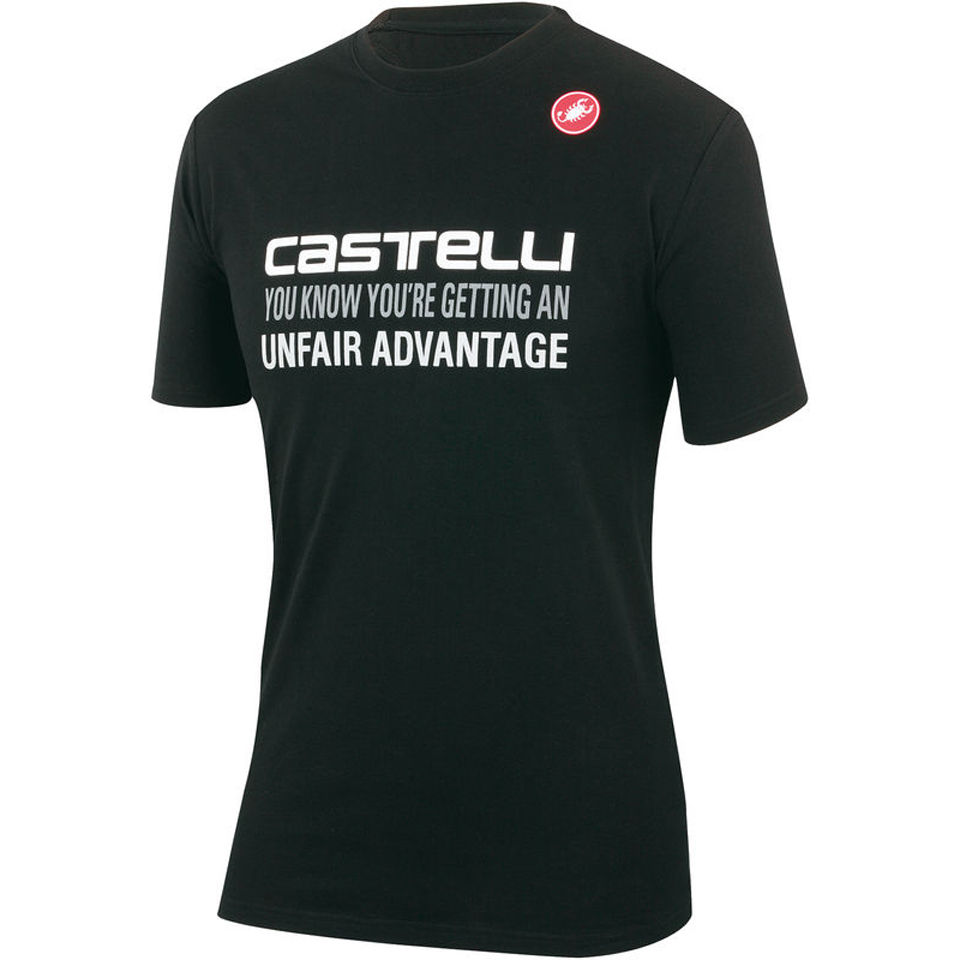 castelli-advantage-t-shirt-black-s
