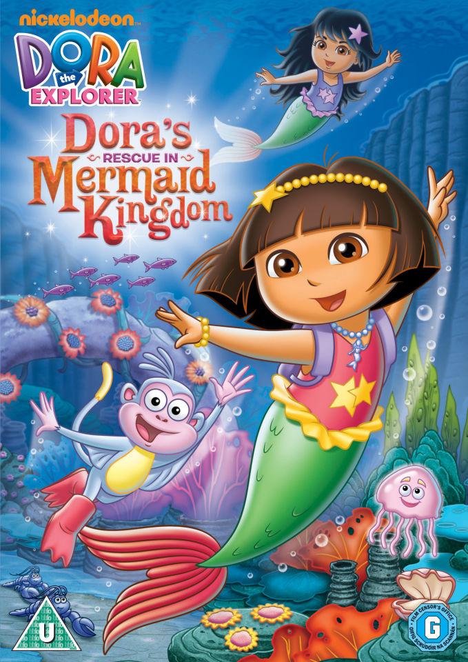Dora The Explorer Doras Rescue In The Mermaid Kingdom Dvd