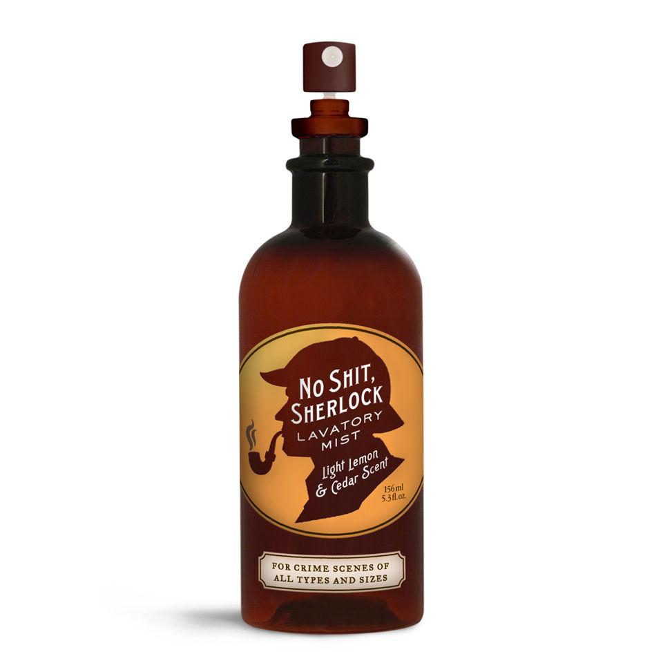 Ambientador Spray Baño  No Sh*t Sherlock  - Limón y cedro