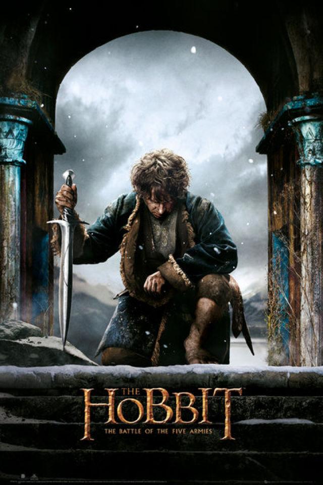 the-hobbit-battle-of-five-armies-bilbo-maxi-poster-61-x-915cm