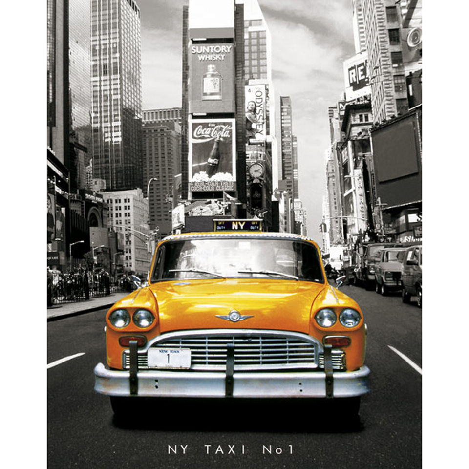 new-york-taxi-mini-poster-40-x-50cm