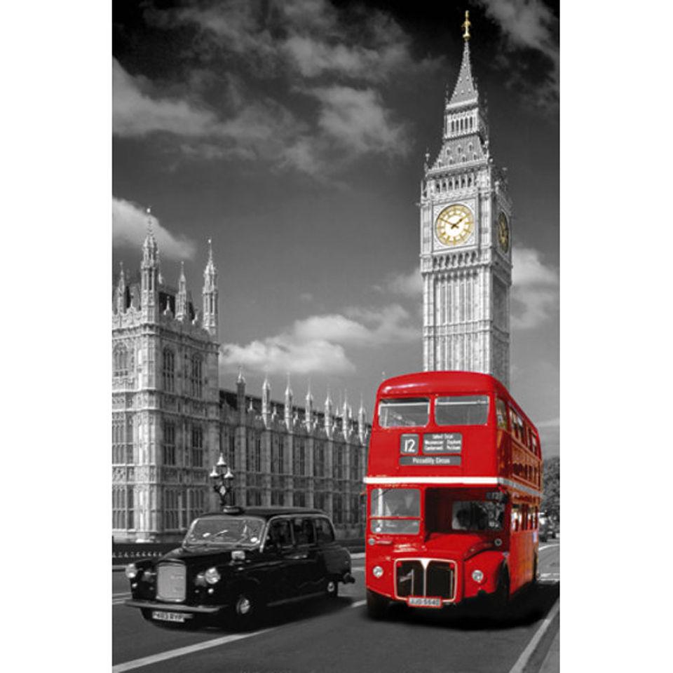 london-big-ben-bus-taxi-maxi-poster-61-x-915cm