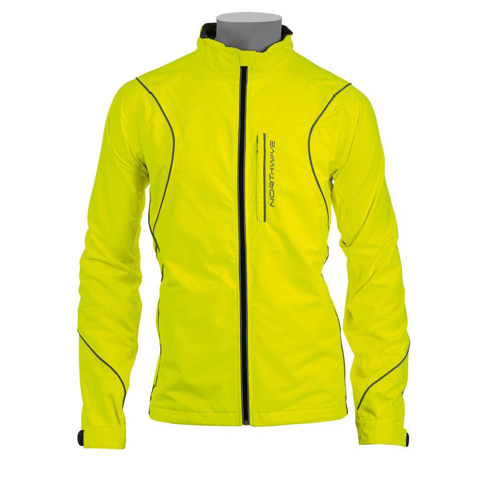 northwave-traveller-jacket-yellow-fluo-s
