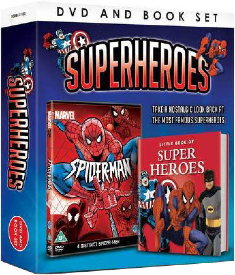 superheroes-includes-book