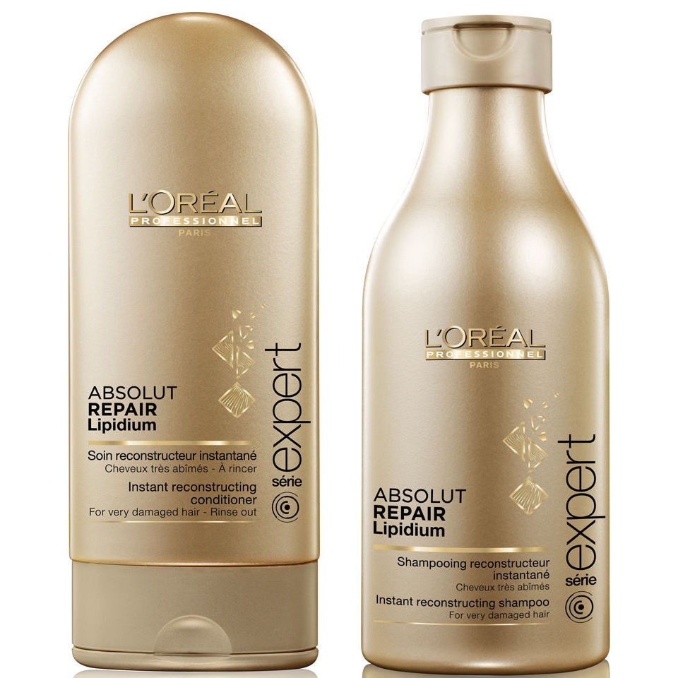 l oreal hair styling products l oreal professionnel absolut repair lipidium shampoo 8023