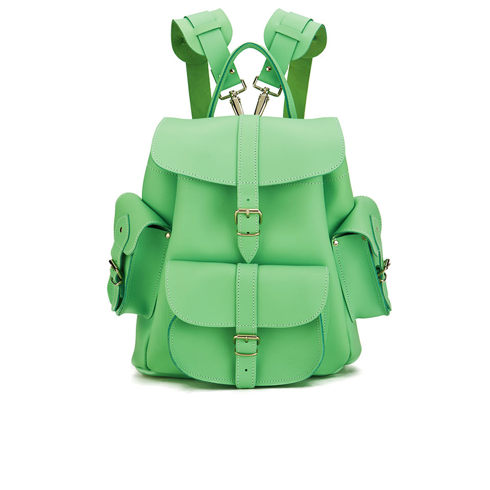 grafea-mint-kiss-medium-leather-rucksack-mint