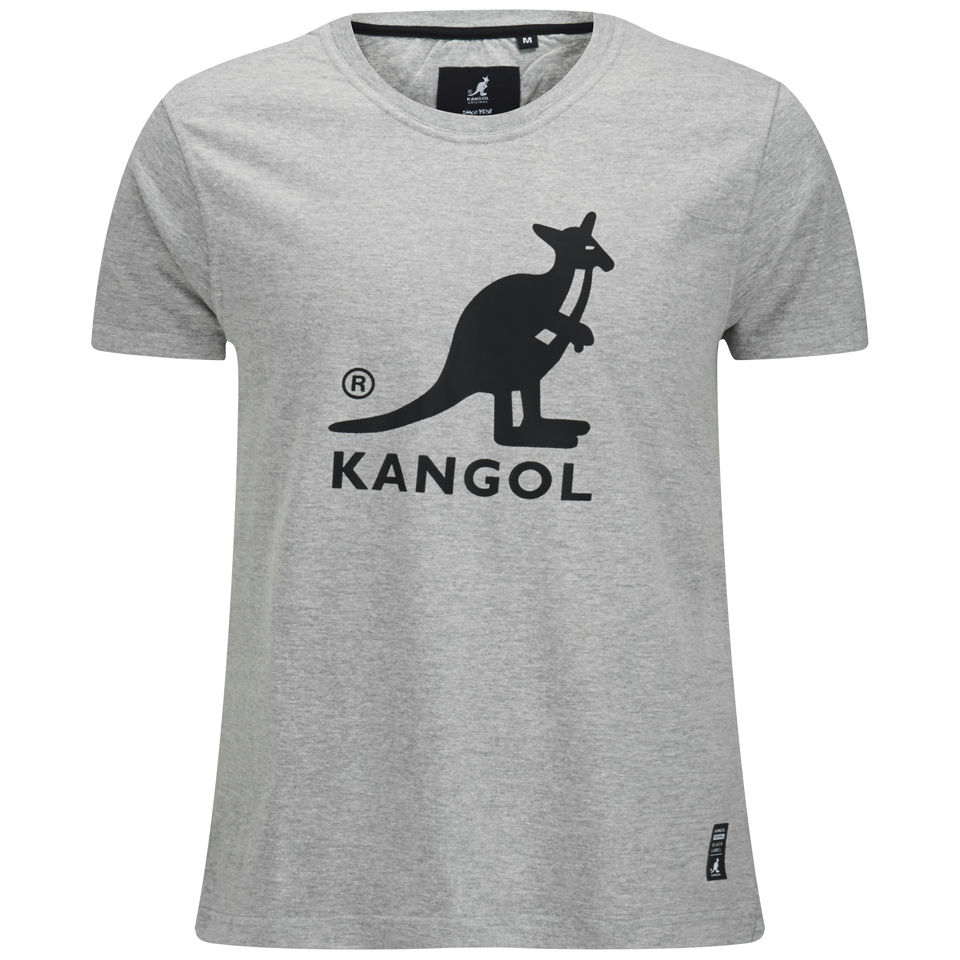 kangol-men-bando-printed-t-shirt-grey-marl-s