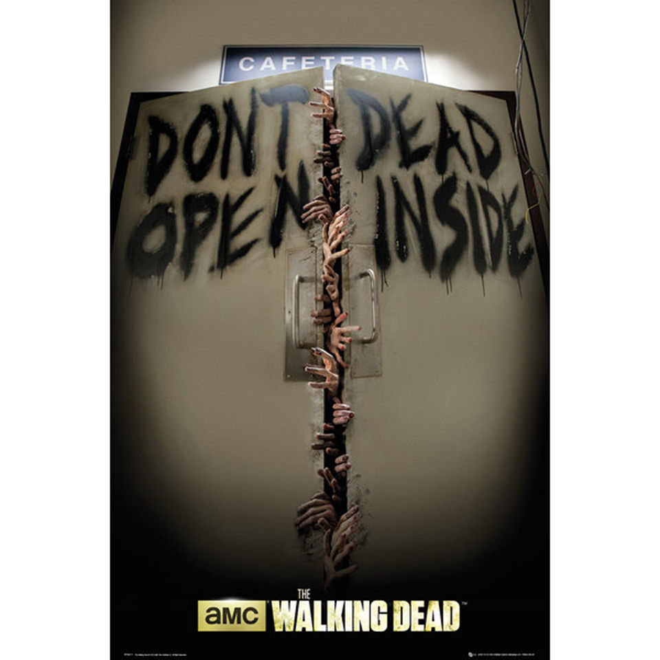 the-walking-dead-keep-out-maxi-poster-61-x-915cm