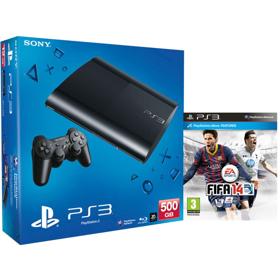 PS3: New Sony PlayStation 3 Slim Console (500 GB)