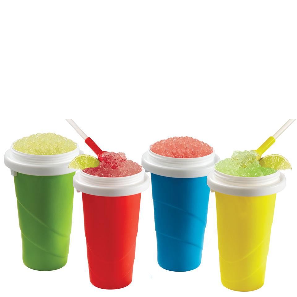 Chill Factor Squeeze Cup Slushy Maker Colours May Vary