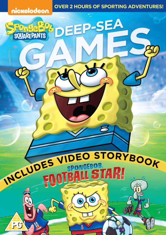 sponge-bob-square-pants-deep-sea-games-includes-sponge-bob-football-star