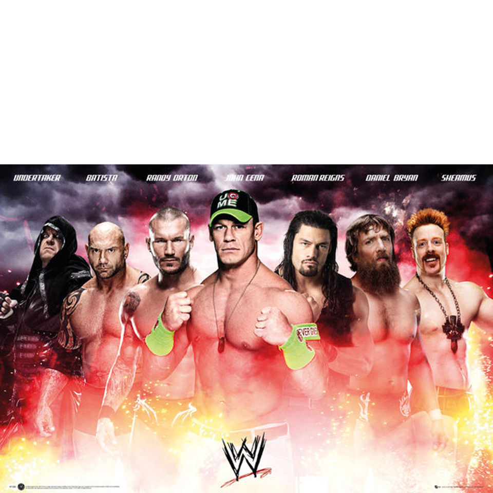 wwe-collage-2014-maxi-poster-61-x-915cm