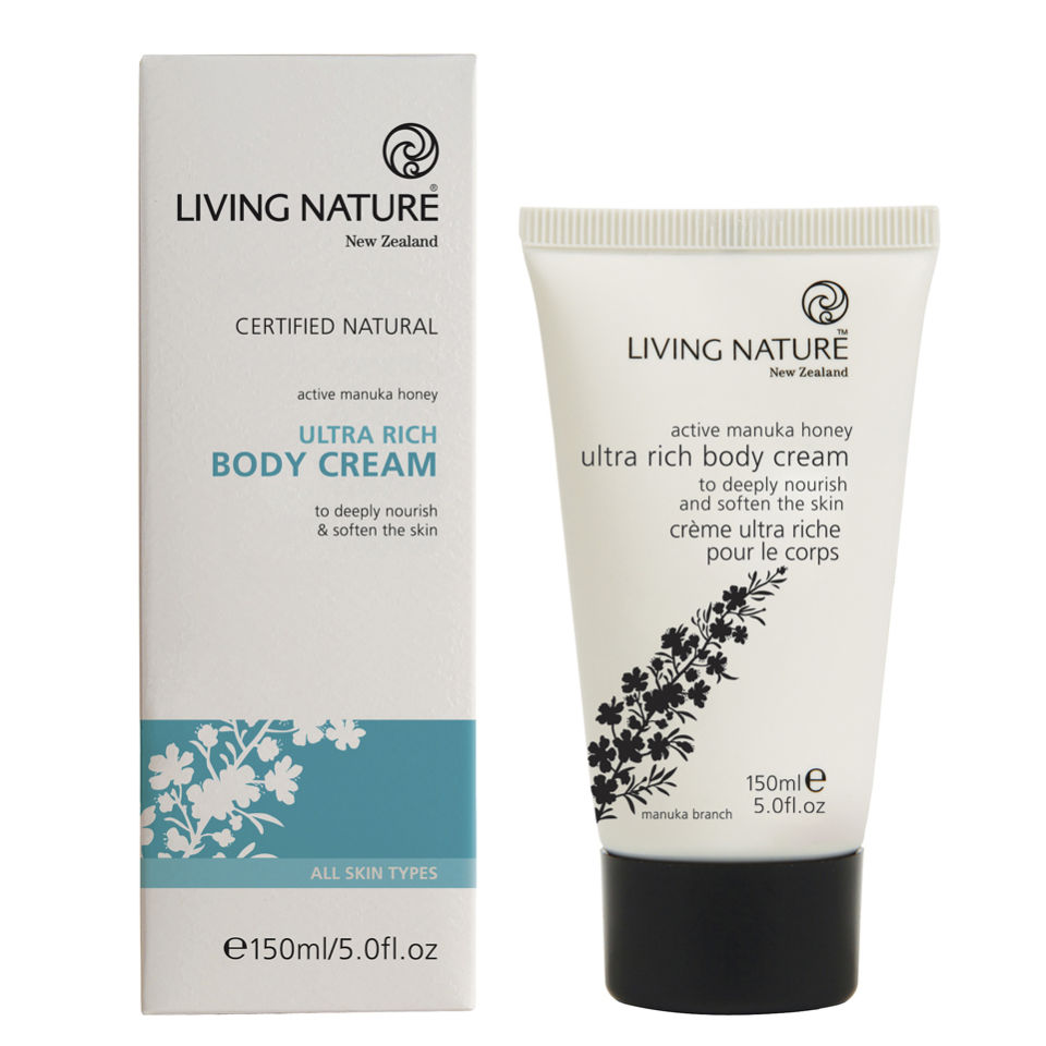 Crema corpotal ultrahidratante Living Nature(150 ml)