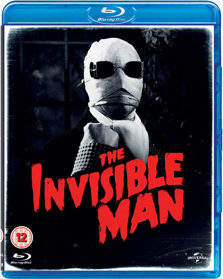 The Invisible Man 1933 Blu Ray Zavvi