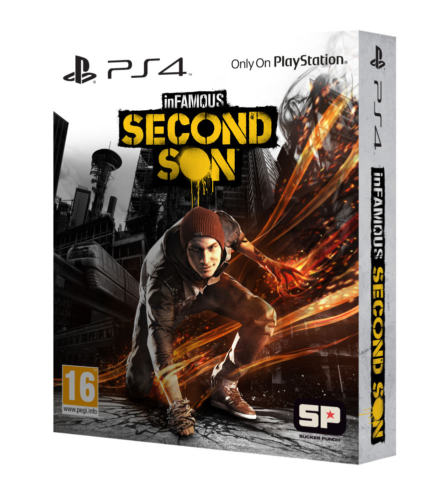 3d Star Logo: InFamous: Second Son Special Edition PS4