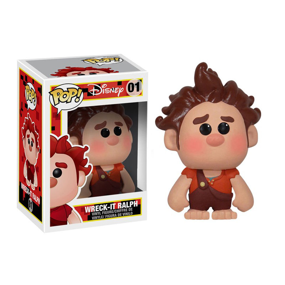 Wreck It Ralph Disney Pop Vinyl Figure Pop In A Box Uk