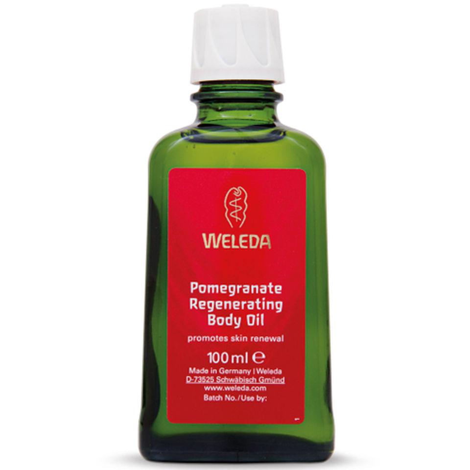 Aceite corporal regenerante Weleda Granade (100ML)