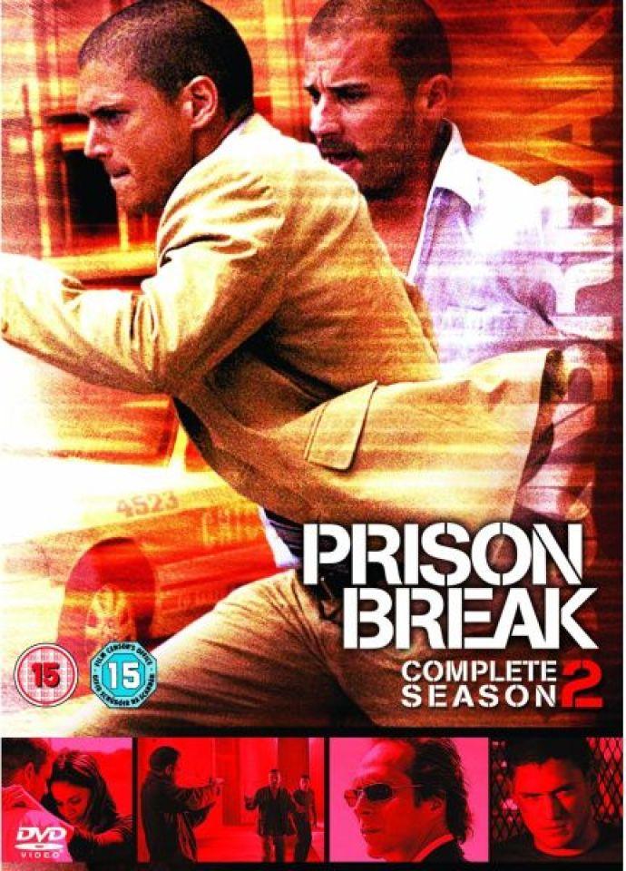Prison Break Season 2 Dvd Zavvi