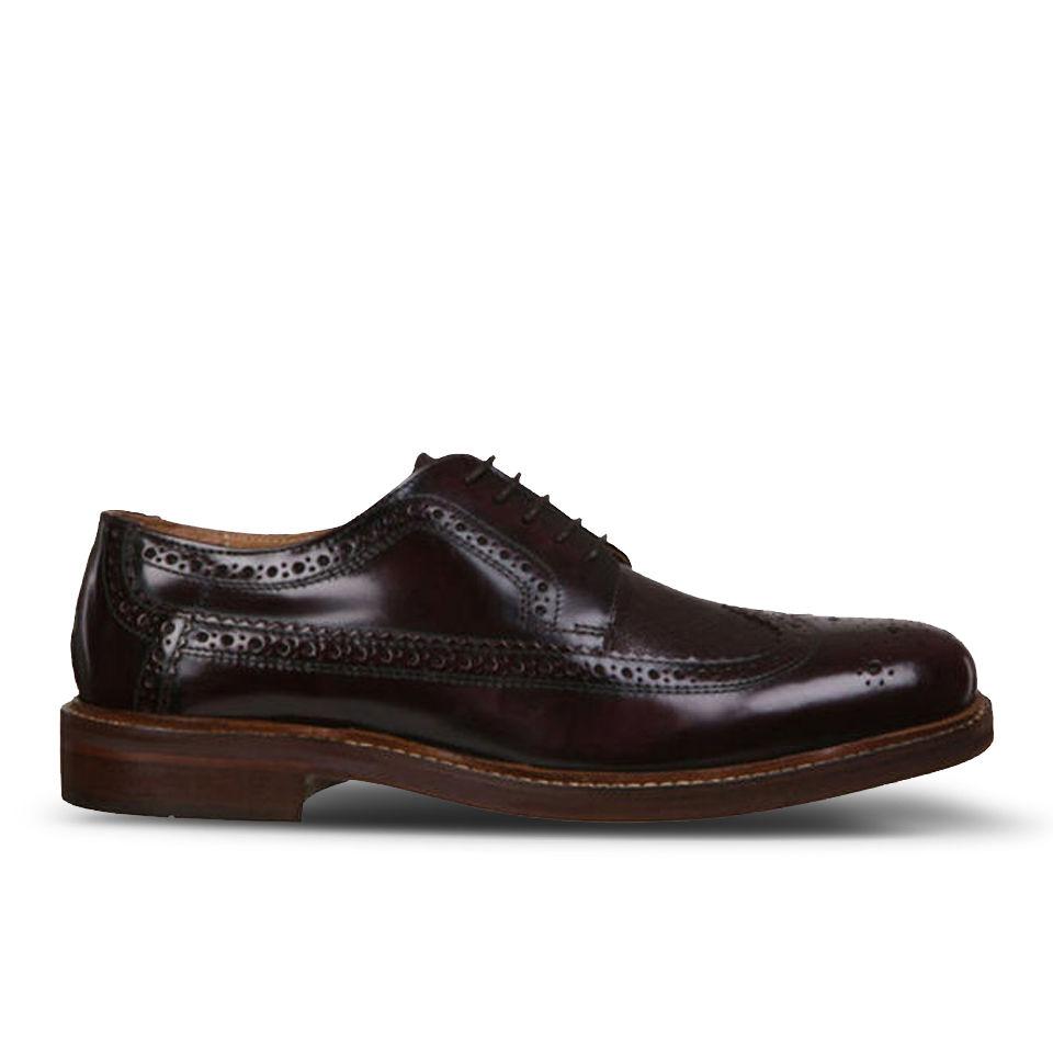 Hudson London Men's Callaghan Shoes - Bordo | FREE UK ...