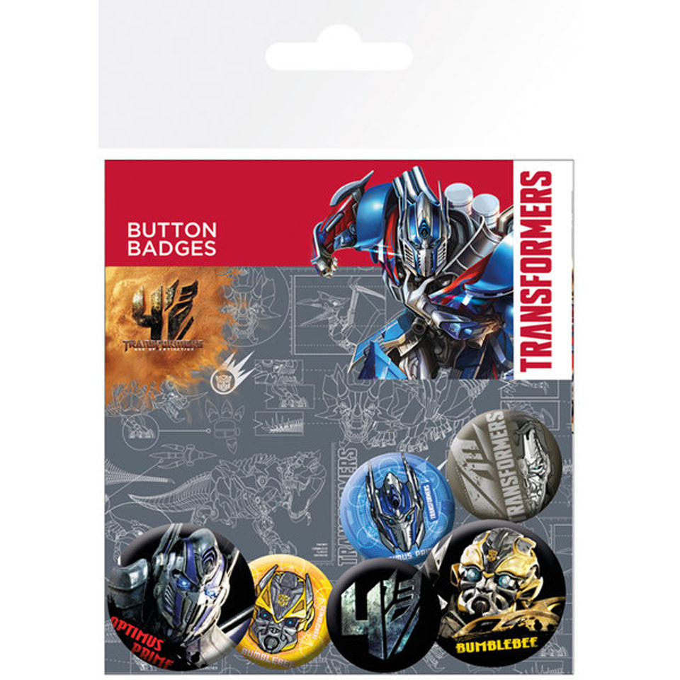 Transformers 4 Age of Extinction Badge Pack
