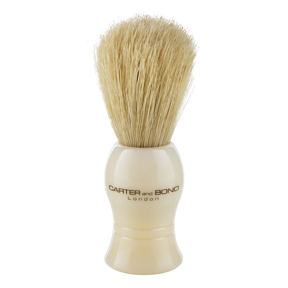 Carter and Bond Pure Bristle Shaving Brush