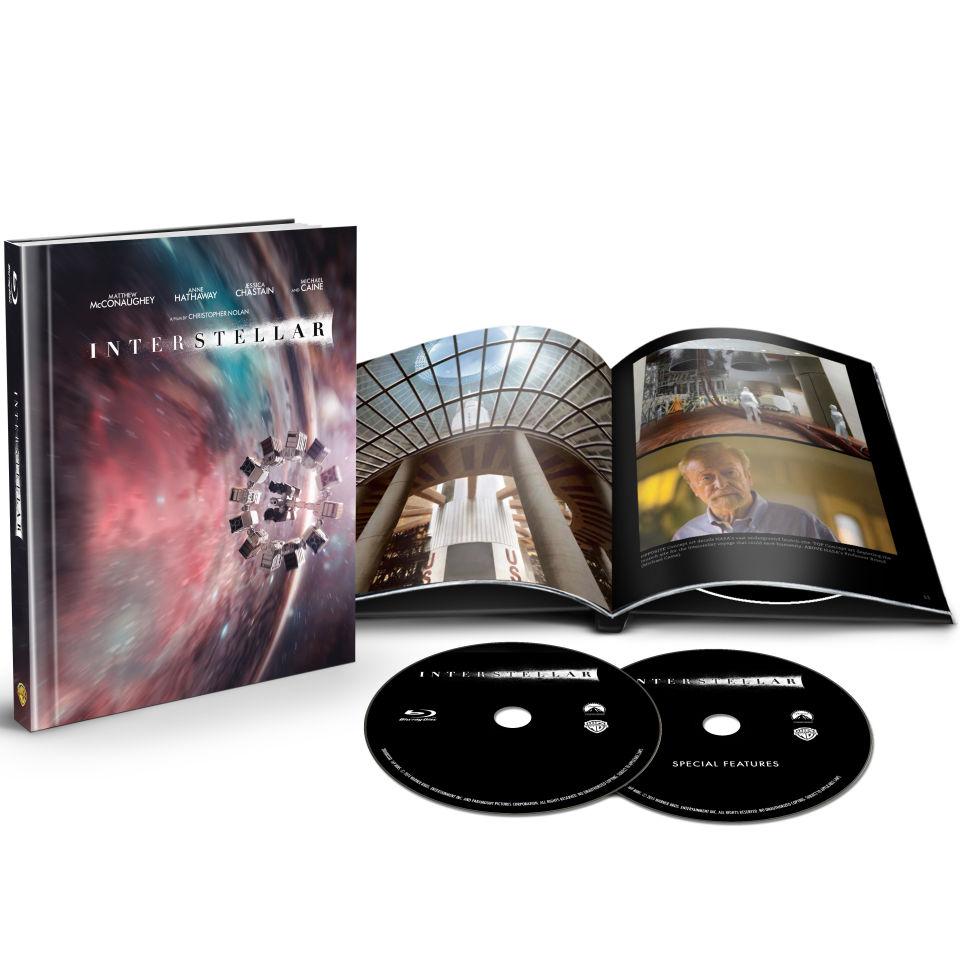 Interstellar Digibook Blu Ray Zavvi