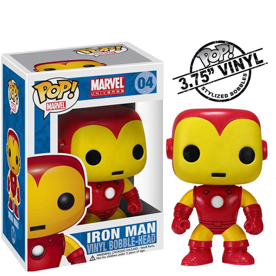 Marvel Iron Man Funko Wackelkopf Pop! Vinyl Figur