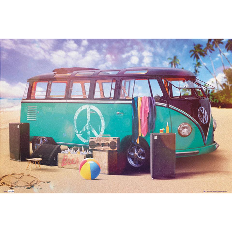 vw-camper-party-maxi-poster-61-x-915cm