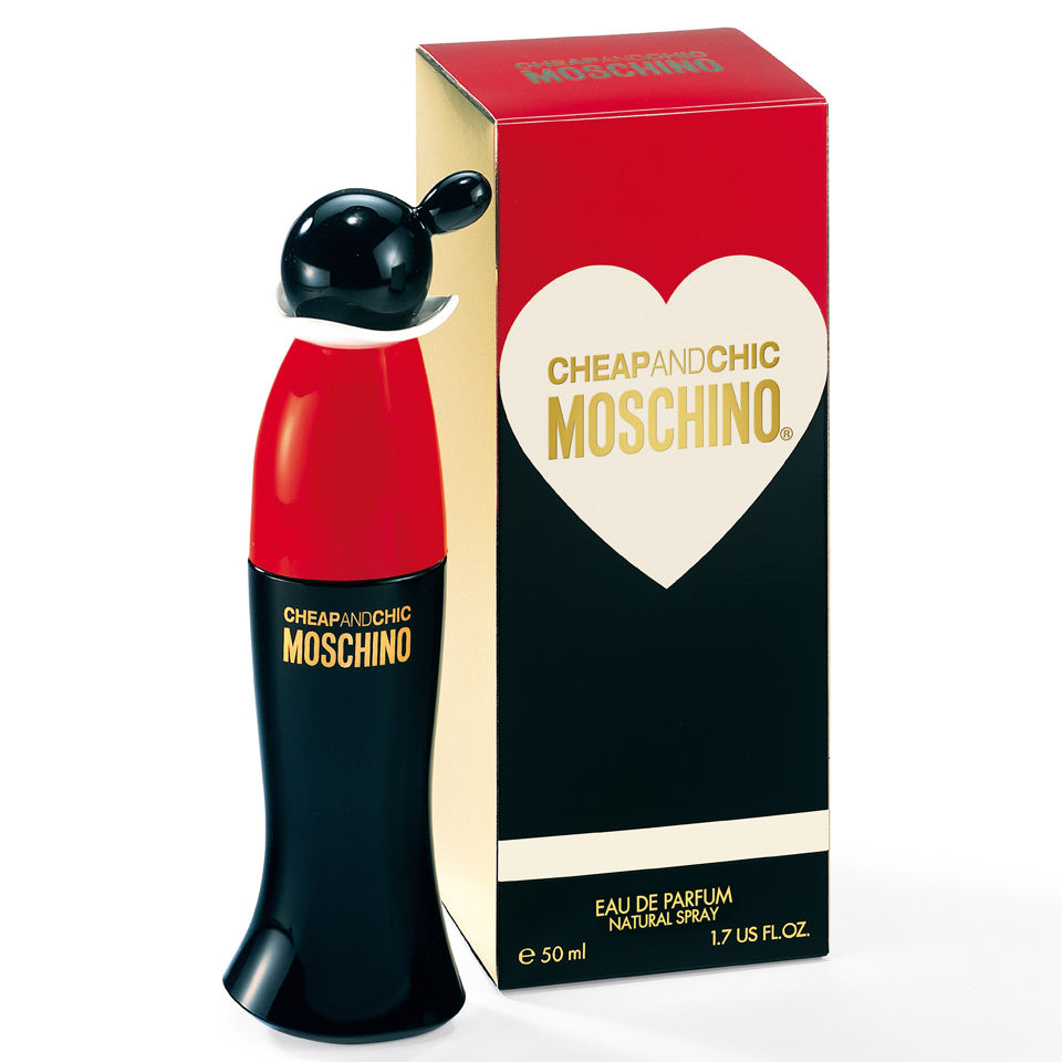 Moschino cheap and chic eau de parfum 50ml Inexpensive chic