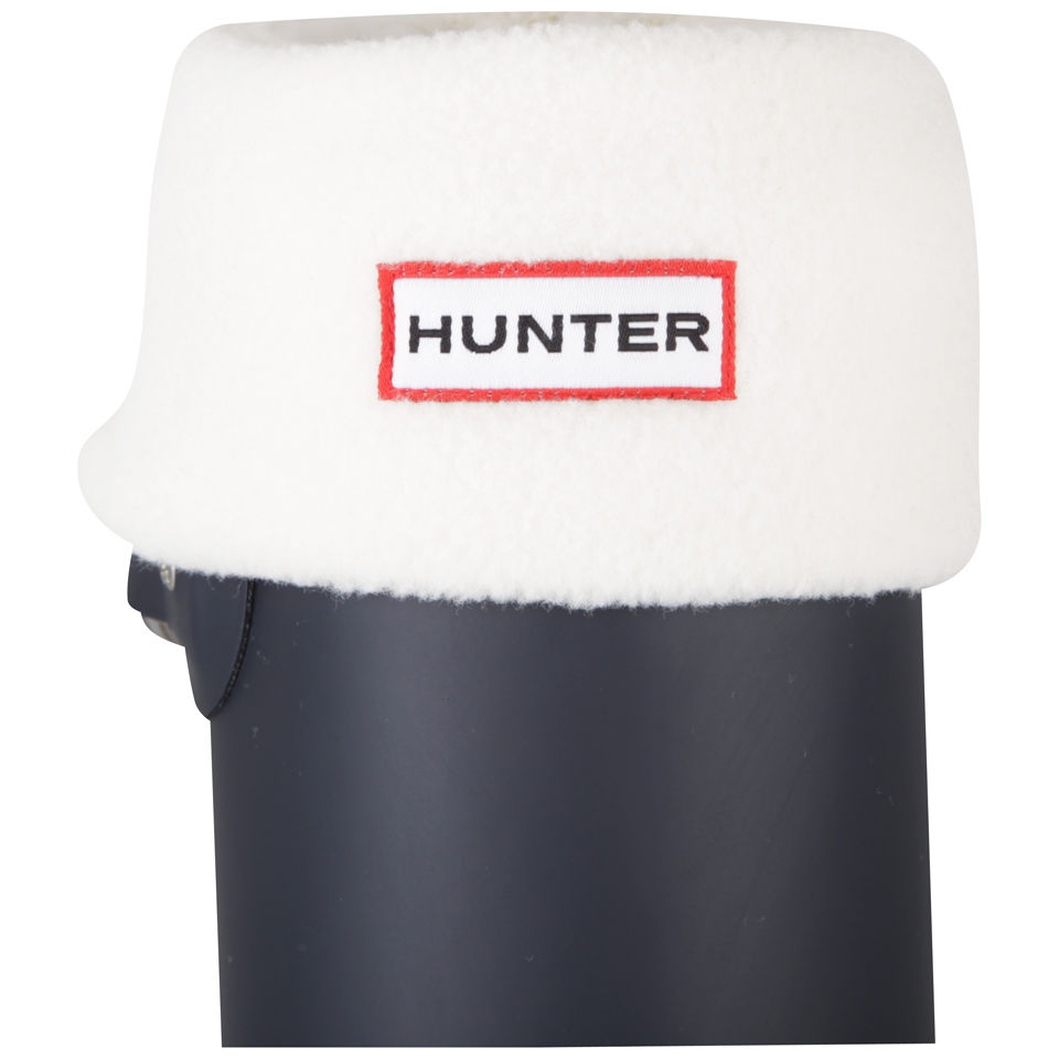 hunter-unisex-short-fleece-welly-socks-cream-l