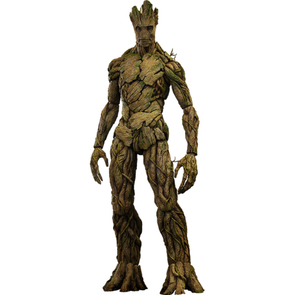 Hot Toys Guardians Of The Galaxy Groot 1 6 Scale Figure