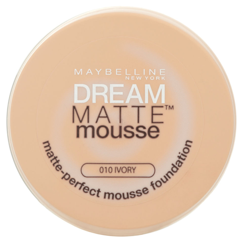Maybelline Dream Matte Mousse Foundation 010 Ivory 18ml