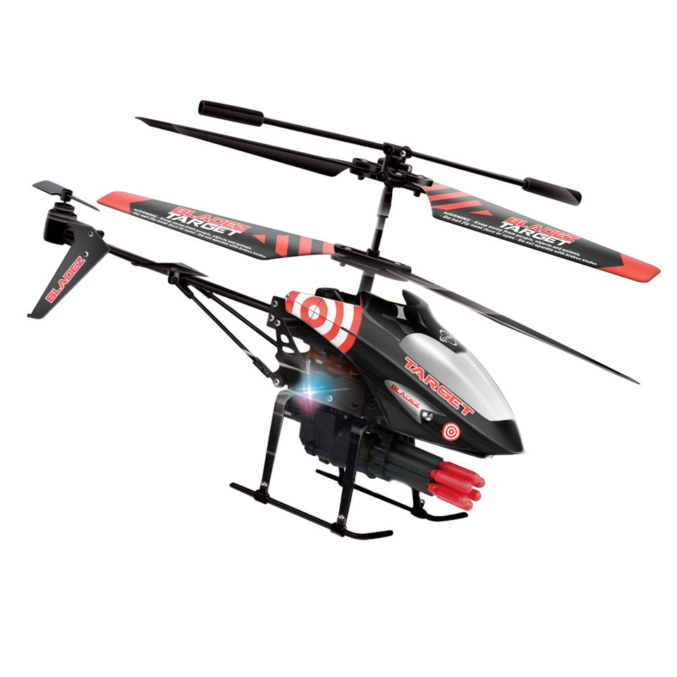 Bladez Target Missile 3ch Gyro Helicopter