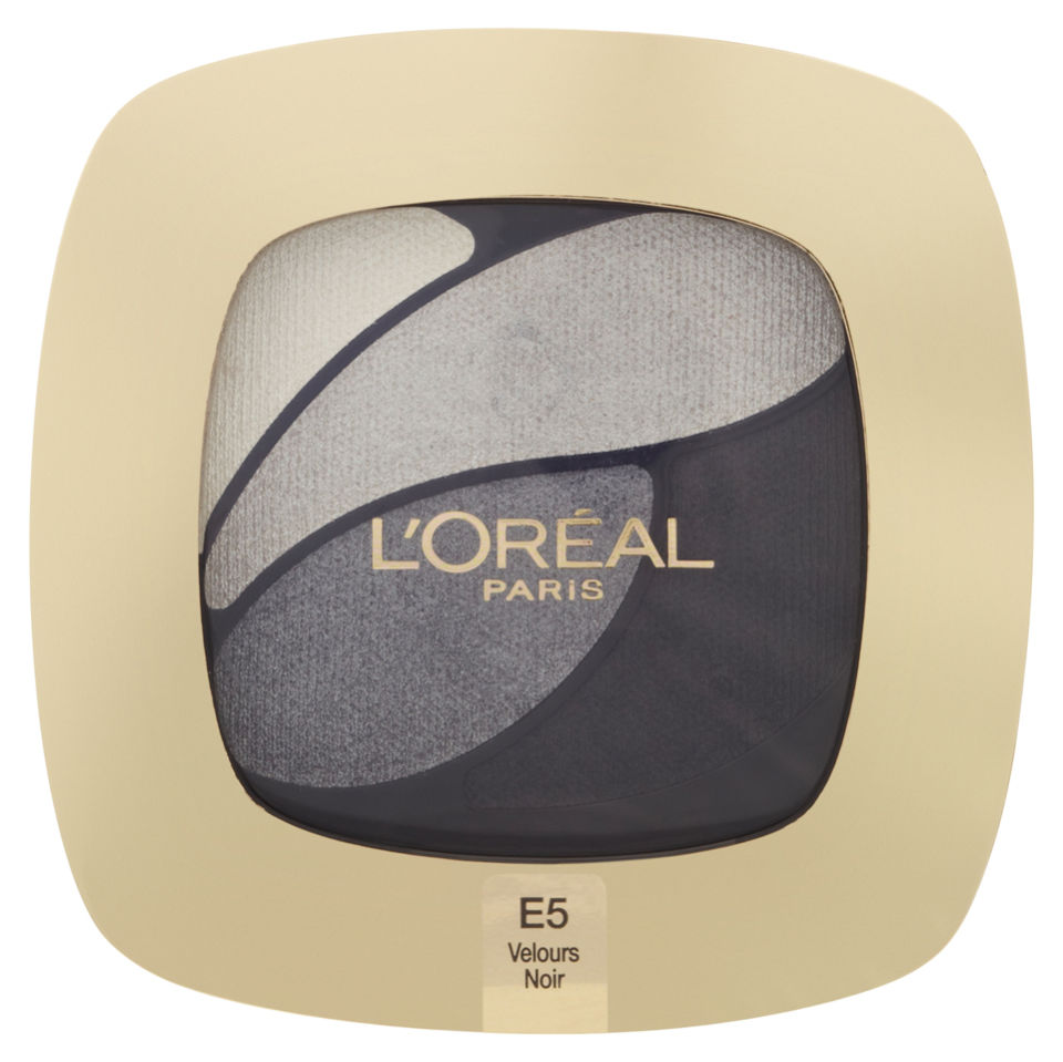 Köpa billiga L'Oreal Paris Colour Riche Quad E5 Incredible Grey online