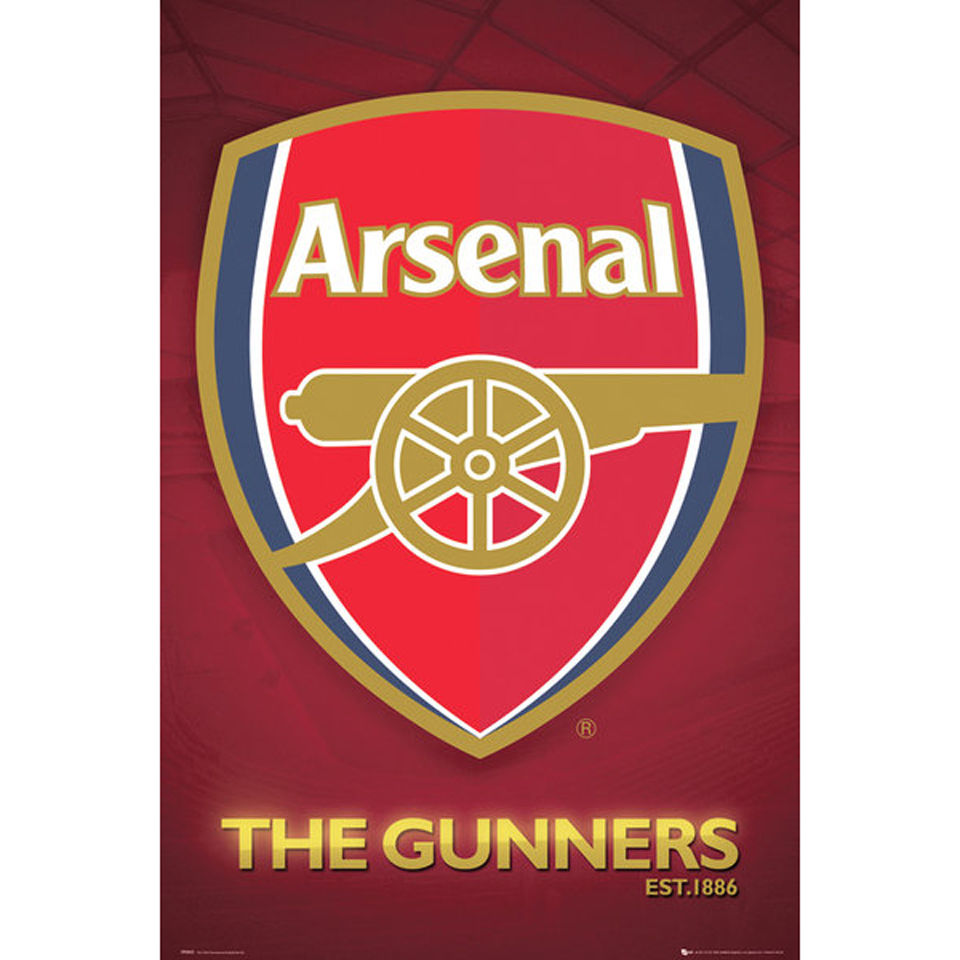 arsenal-club-crest-2013-maxi-poster-61-x-915cm